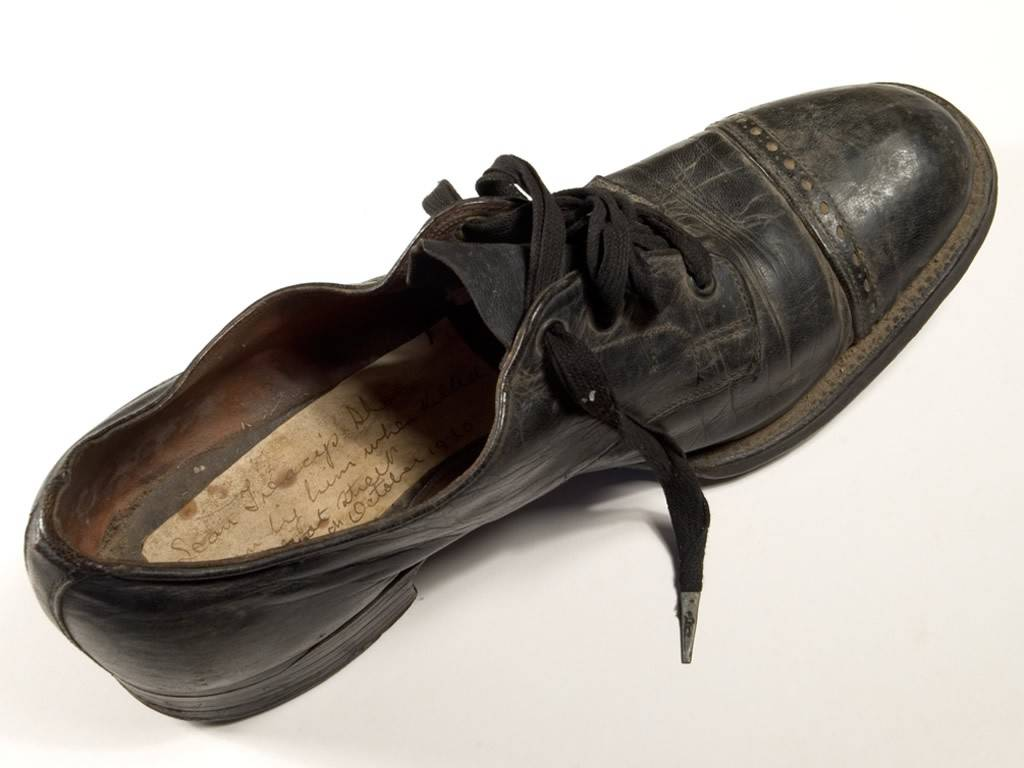 Sean Treacy Shoe. OPW.
