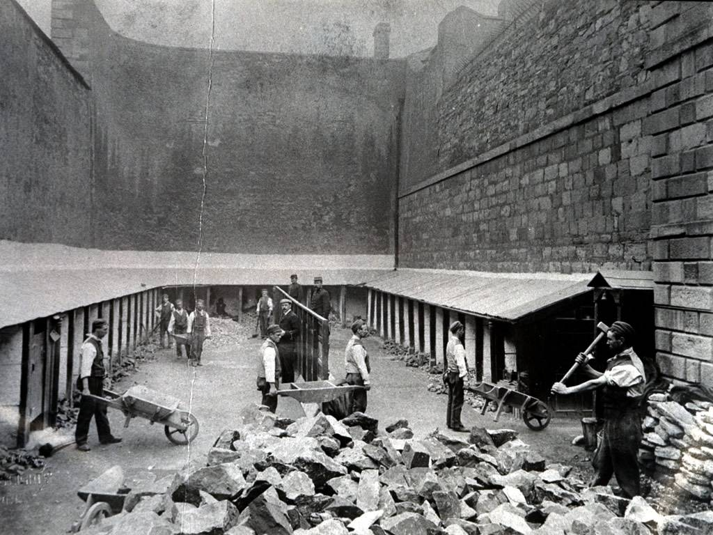 The Stonebreakers' Yard. National Archives of Ireland.